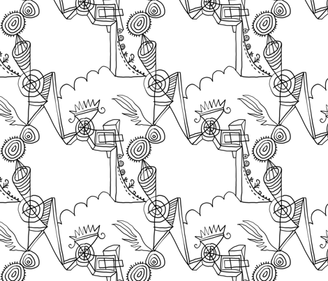 Page 8207 fabric by pixo on Spoonflower - custom fabric