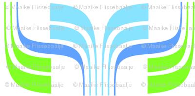 Deco Flower Blue