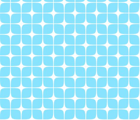 Modern Deco Blue fabric by flis on Spoonflower - custom fabric