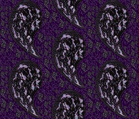 Paisley Mae fabric by gabzi on Spoonflower - custom fabric