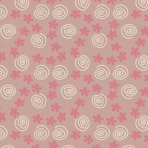 Flower Swirl pink 2
