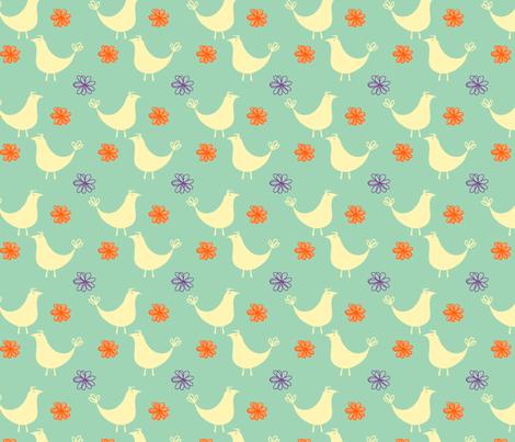 partridgeandbloom-ch fabric by air_&_loom on Spoonflower - custom fabric