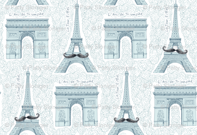 Monsieur Eiffel et Ami