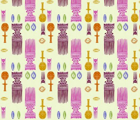 Wisdom Quilt Kit-264 fabric by kkitwana on Spoonflower - custom fabric