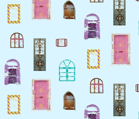 windoors_light fabric by snork on Spoonflower - custom fabric