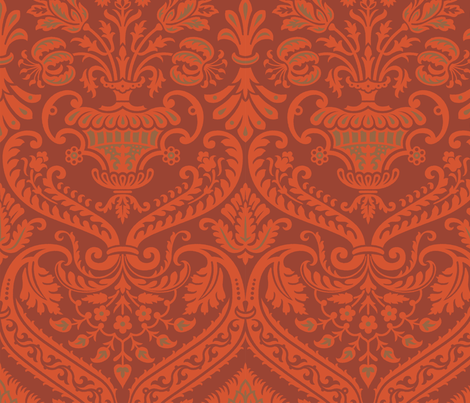 Damask VA 2b fabric by muhlenkott on Spoonflower - custom fabric