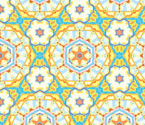 level 5 arctic chandelier fabric by matthandlersux on Spoonflower - custom fabric