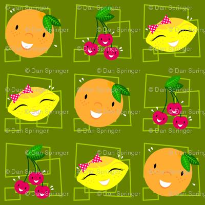 Skulluxe fruit party - green