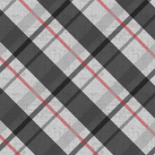 Diagonal Plaid - 1