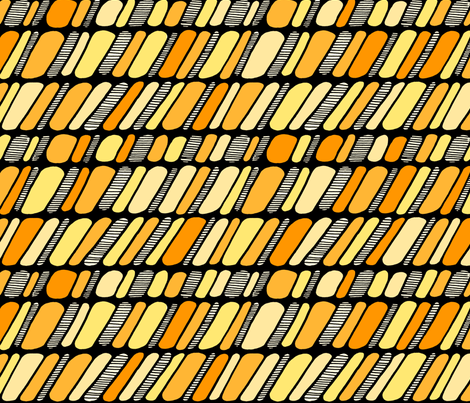 Cobble Stones - fresh zest fabric by janicesheen on Spoonflower - custom fabric
