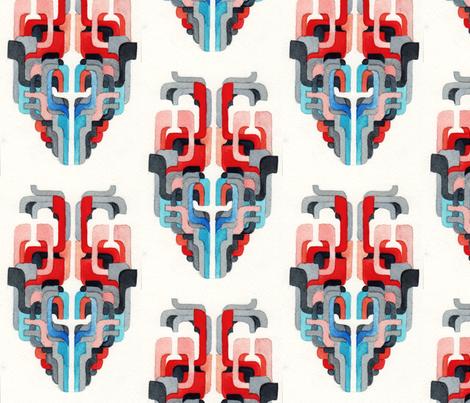 mask fabric by loren_leahy on Spoonflower - custom fabric