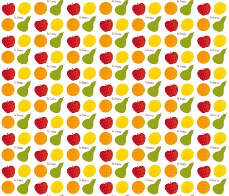 la frutta fabric by tortagialla on Spoonflower - custom fabric