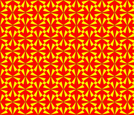 Reflected_Pinwheels 001 fabric by phigmint on Spoonflower - custom fabric