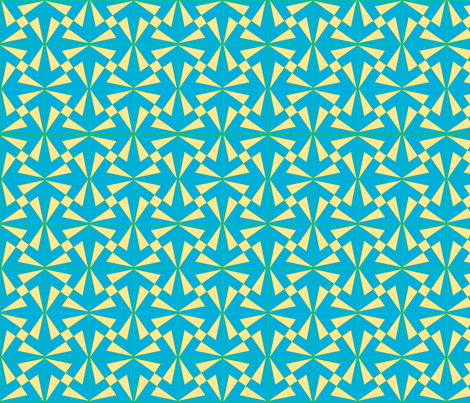 Reflected_Pinwheels 006 fabric by phigmint on Spoonflower - custom fabric