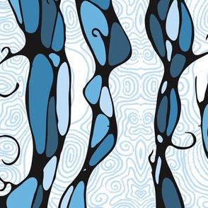 elegent swerls - 90 degrees south