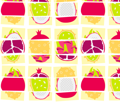 Exquisite Fruit Corpses fabric by eloisenarrigan on Spoonflower - custom fabric