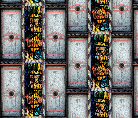 doorsandwindows fabric by itasha on Spoonflower - custom fabric