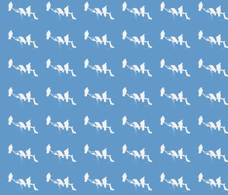 Bird Family fabric by robin_rice on Spoonflower - custom fabric