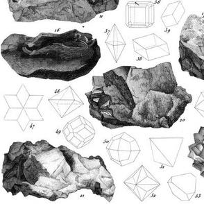 Vintage minerals