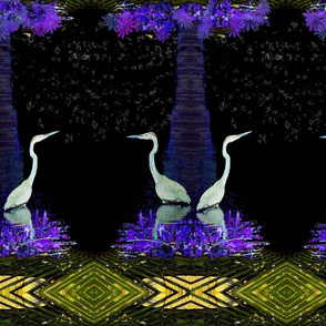 Heron in the Night