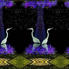 Heron in the Night