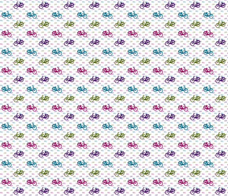 Bicycle, bicycle... fabric by b_anna on Spoonflower - custom fabric