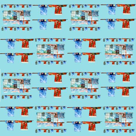 Window Washline Plaid fabric by karenharveycox on Spoonflower - custom fabric