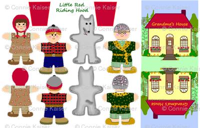 Little Red Riding Hood Pocket Dolls