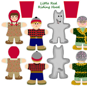 Little Red Riding Hood Pocket Dolls