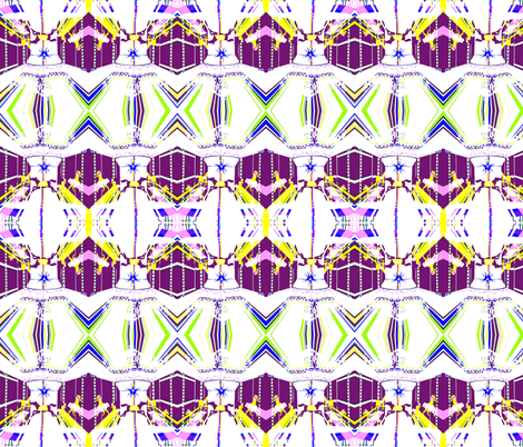 Magic Carousel fabric by robin_rice on Spoonflower - custom fabric