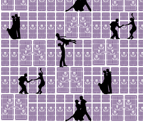 Shadow_Dancing fabric by eclectic_mermaid on Spoonflower - custom fabric