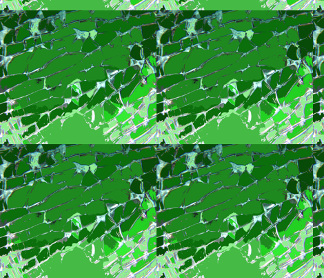 green fabric by gabindy on Spoonflower - custom fabric