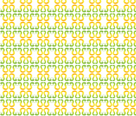 Cat the piller fabric by namastemama on Spoonflower - custom fabric