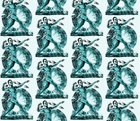 Corpore Sano (Healthy Body) fabric by nalo_hopkinson on Spoonflower - custom fabric