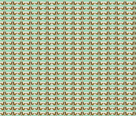 The Great Nut Hunt fabric by robin_rice on Spoonflower - custom fabric