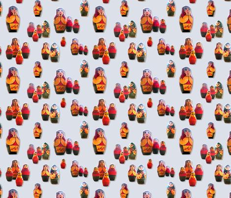 Matrioshkas fabric by ravynka on Spoonflower - custom fabric