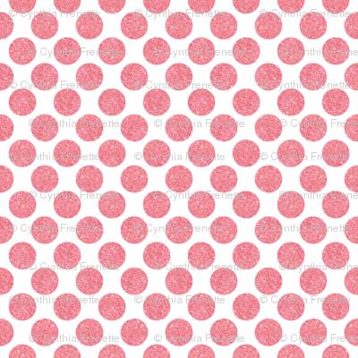 Glitter Dots Pink