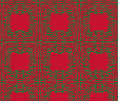Jan's Holiday Bandanna1 fabric by jan4insight on Spoonflower - custom fabric