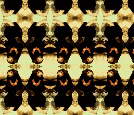 Sun Bear fabric by robin_rice on Spoonflower - custom fabric