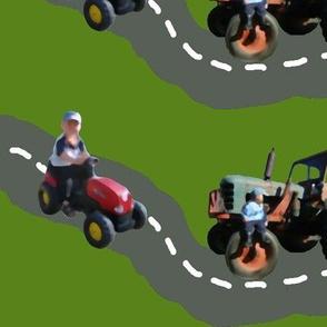 Terrific Tractor Traffic