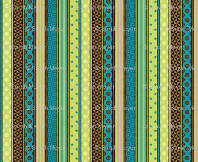 Rough& Tumble Patterned Stripe