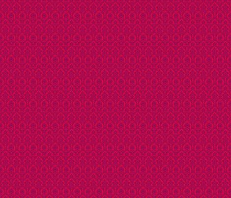Fuchsia Damask fabric by eskimokissez on Spoonflower - custom fabric