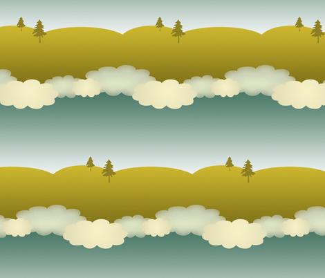 skies fabric by ravynka on Spoonflower - custom fabric
