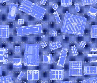 Windows and Doors-blue