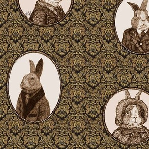 Antique Bunnies