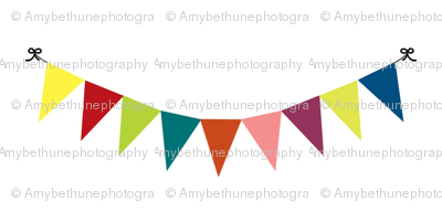 celebration bunting small