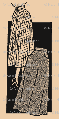 Vintage skirt pattern