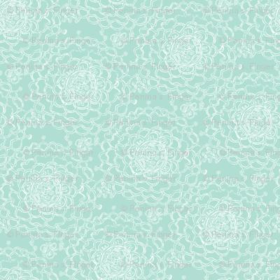 Seaglass Chrystanthemums III
