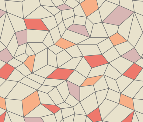 Mesh mod colorblock fabric by ravynka on Spoonflower - custom fabric