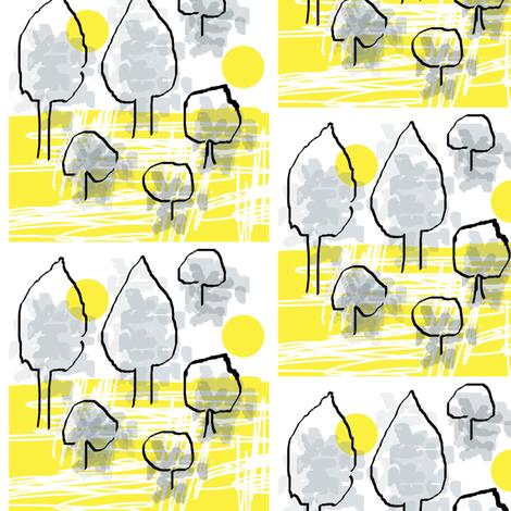 Lemon Trees fabric by joheadington on Spoonflower - custom fabric